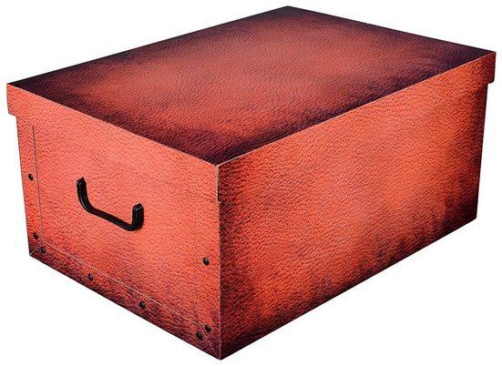 Kreher Aufbewahrungsbox »Carmel Leather«