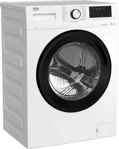 BEKO Waschmaschine WML71465S, 7 kg, 1400 U/min