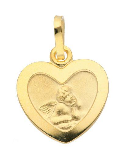 Adelia´s Kettenanhänger »333 Gold Anhänger Amor«