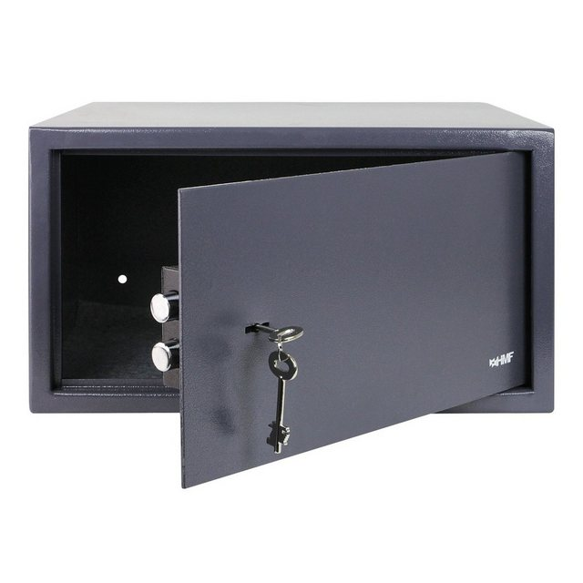HMF Möbeltresor »Doppelbartschloss«, Safe, 45 x 25 x 36,5 cm, Anthrazit