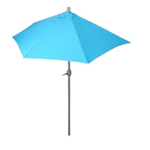 MCW Sonnenschirm »Lorca-270«, LxB: 260x135 cm, Optional mit Schirmständer, witterungsfest, Platzsparend zusammenfaltbar