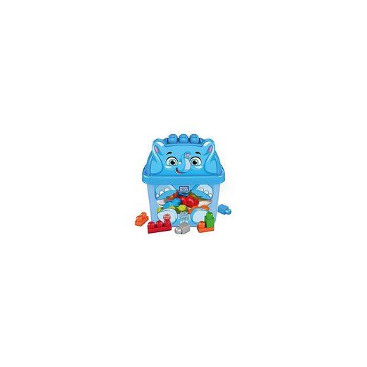 Mattel® Mega Bloks Elefant Bausteinbox (25 Teile)