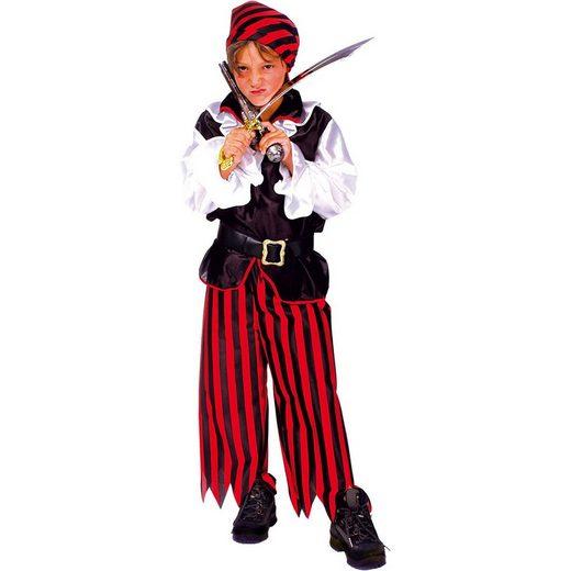 Funny Fashion Kostüm »Kostüm Pirat, 3-tlg.«