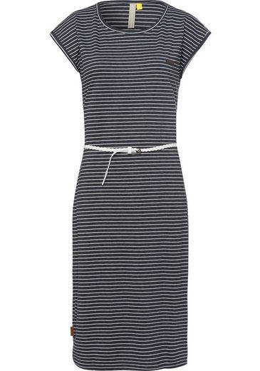 Alife & Kickin Jerseykleid »MelliAK« süßes Sommerkleid mit Flechtgürtel in verschiedenen Printvarianten