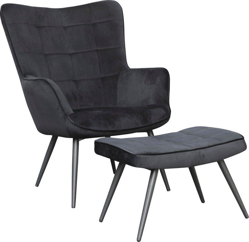Homexperts Sessel »ULLA« 20 St, wahlweise mit oder ohne Hocker online  kaufen   OTTO