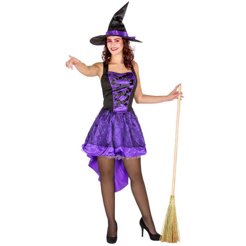 dressforfun Hexen-Kostüm »Frauenkostüm sexy Hexenkleid«