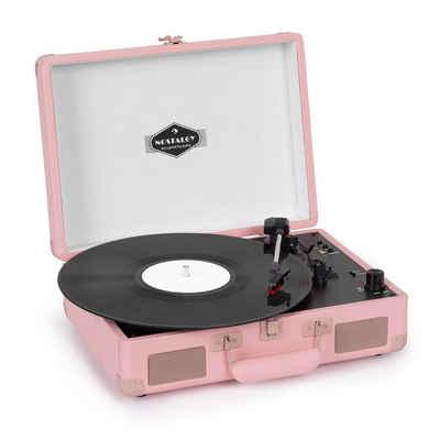 Auna »Peggy Sue BT Plattenspieler Stereolautsprecher USB BT tragbar« Plattenspieler