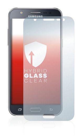 upscreen Schutzfolie »Panzerglasfolie für Samsung Galaxy J5 2015«, Schutzglas Glasfolie klar