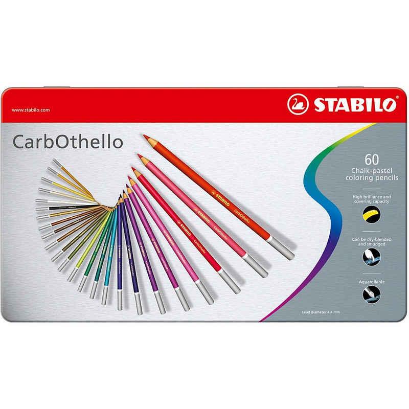 STABILO Buntstift »Pastellkreidestifte CarbOthello, 60 Farben im«