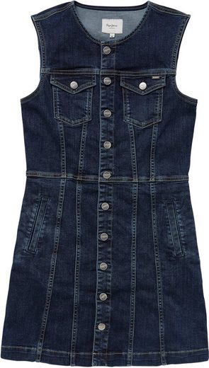Pepe Jeans Jeanskleid »LINEA« mit aufgesetzten Brusttaschen