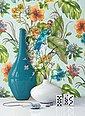 Newroom Papiertapete, Blumentapete Grün Bunt Wallpaper Floral Blumen Tapete Pflanzen Palmenblätter Wohnzimmer Schlafzimmer Büro Flur, Bild 1