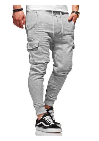 behype Sportinio stiliaus kelnės »Combat« su ...