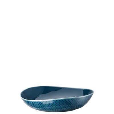 Rosenthal Suppenteller »Junto Ocean Blue Teller tief 22 cm«, (1 Stück)