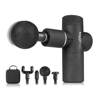 MAXXMEE Massagegerät »MAXXMEE Mini Massage Gun Pro 6 Stufen Schwarz«