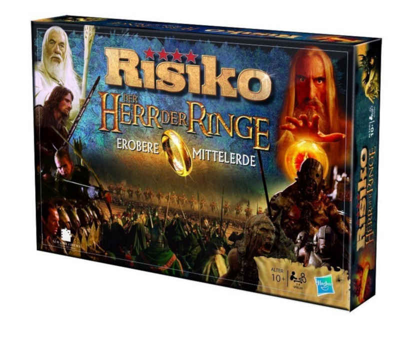 Winning Moves Spiel, Brettspiel »Risiko Herr der Ringe«