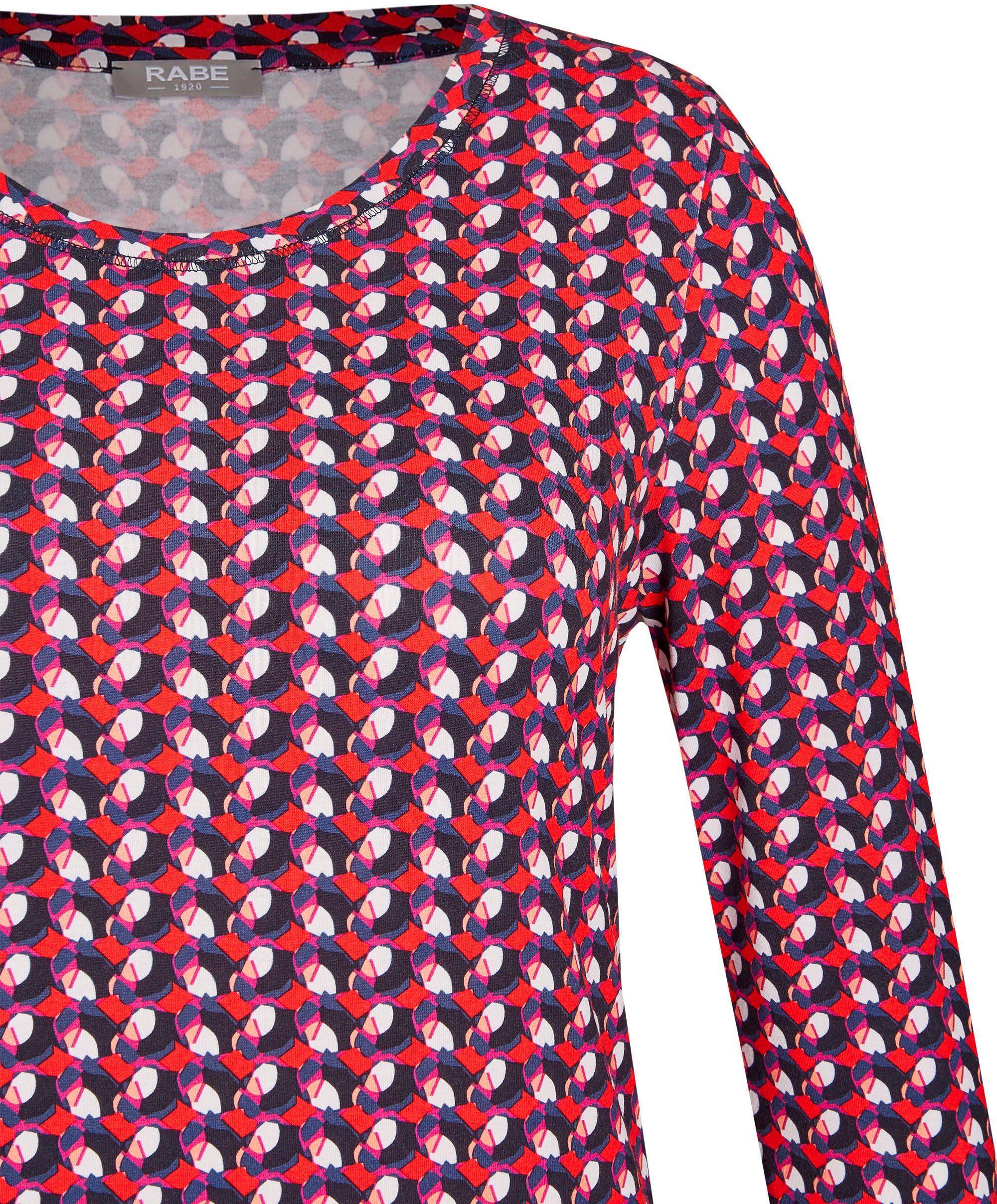 Rabe Print-shirt Mit Minimal-druck Allover Bedrucktes Shirt Von Online Kaufen