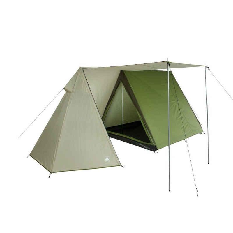 10T Outdoor Equipment Hauszelt »10T Mungaroo 3 - 3 Personen Trekking Doppeldach First-Zelt mit Vorraum, 3000mm«, Personen: 3