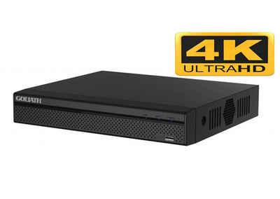 Goliath Intercom »Goliath NVR Recorder« IP-Überwachungskamera (Ethernet: RJ-45 port (10/100/1000Mbps), 1x GOLIATH - 16 Kanal - IP NVR Recorder Ultra-HD 4K, AV-NVR4016)