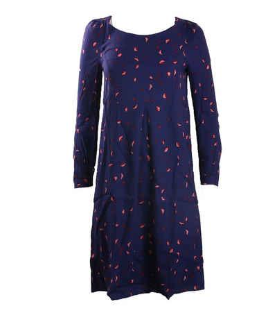 NOA NOA Sommerkleid »NOA NOA Kleid feminines Damen Kleid Langarm mit Allover-Print Sommer-Kleid Blau«