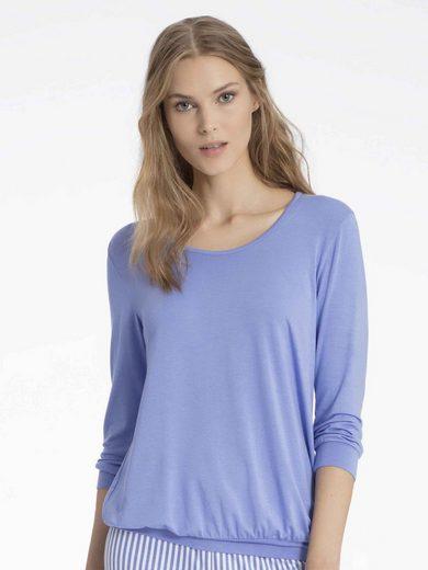 CALIDA Kurzarmshirt »Shirt mit 3/4-Arm« (1-tlg)