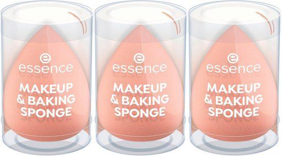Essence Make-up Schwamm »MAKEUP AND BAKING SPONGE«, Set, 3 tlg.