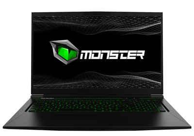 Monster Notebook Abra A7 V11.2 Gaming-Notebook (43,94 cm/17.3 Zoll, Intel Core i7, GeForce® GTX™ 1650 Refresh (2020), 256 GB SSD)