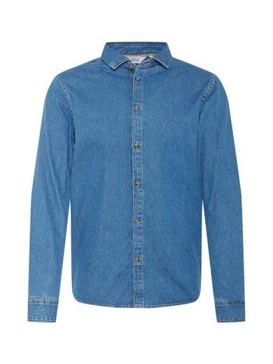 Solid Langarmhemd »Pil«