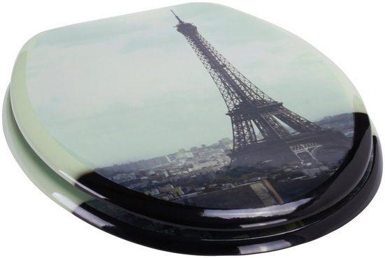 MSV WC-Sitz »PARIS«, MDF-Kern