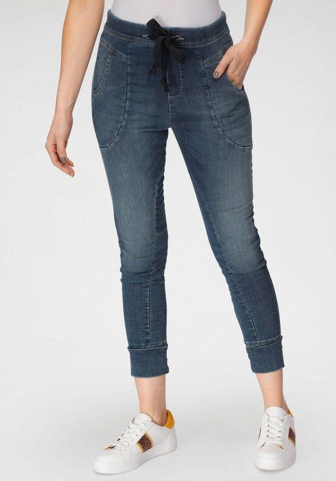 please jeans -  Jogg Pants »P 51G« im authentischem Denim Used-Look