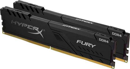 HyperX »Fury DDR4 2666MHz 16GB (2x 8GB)« PC-Arbeitsspeicher