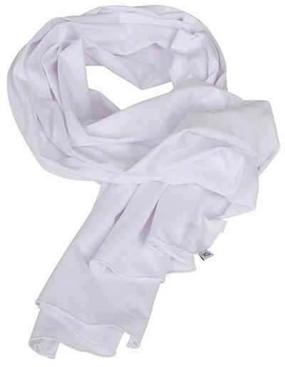 Build Your Brand Modeschal »Modischer Sommer Schal unifarben« Leichtes sommerkühles Material
