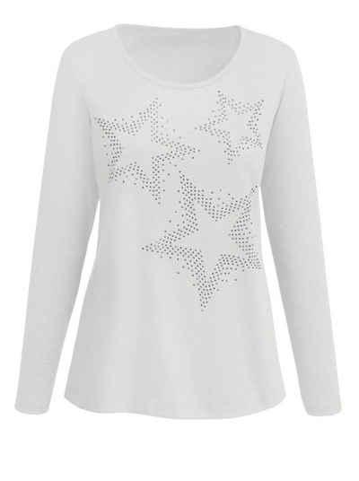 Classic Basics Shirt mit Sternen Muster