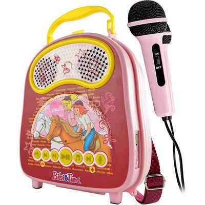 X4-TECH »Bibi & Tina Karaoke-Anlage Bobby Joey Casey Music« Stereoanlage