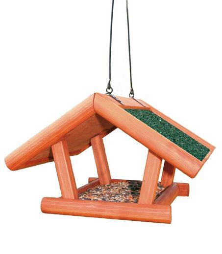 TRIXIE Vogelhaus »Giebel«, braun/grün, zum Hängen, B/T/H: 30/18/28 cm