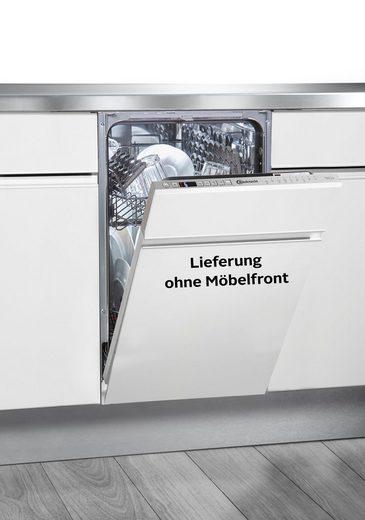 BAUKNECHT vollintegrierbarer Geschirrspüler, BSIO 3T223 PE X, 9 l, 10 Maßgedecke