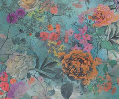 Architects Paper Fototapete »Atelier 47 Colour Plants 2«, glatt, floral, (3 St)