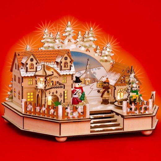 sikora weihnachtsfigur »sikora sd02 beleuchtete xxl holz