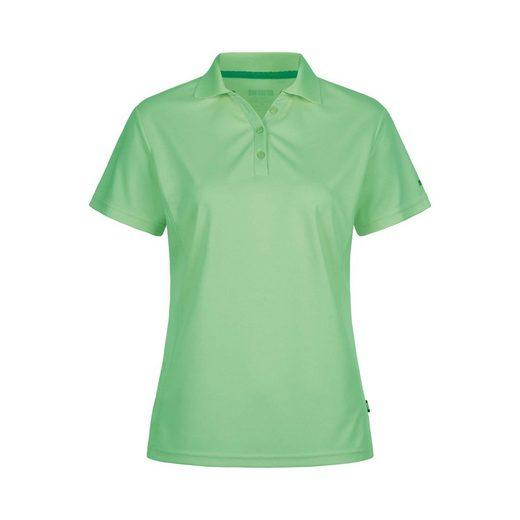DEPROC Active Poloshirt »HEDLEY II NEW WOMEN« 3F-Funktions-Piqué aus 100% Recycling Kunstfaser