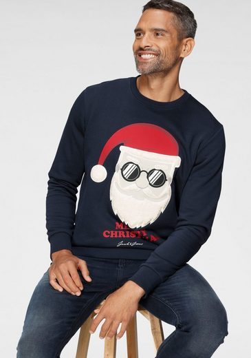 Jack & Jones Sweatshirt »Xmas Sweat - SNOWFALL SWEAT«