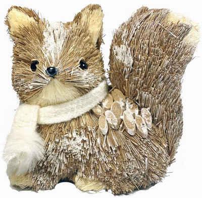Tierfigur »Eichhörnchen« (1 Stück), mit Wollschal