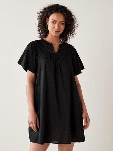 Next Etuikleid »Kleid mit geschlitztem Ausschnitt« (1-tlg)
