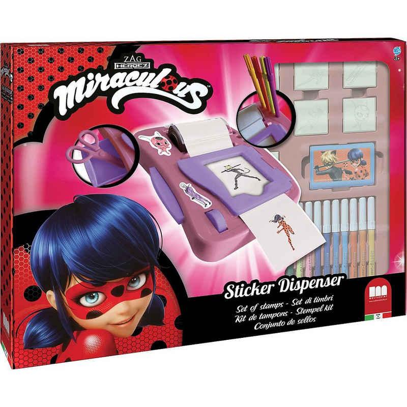 Miraculous - Ladybug Sticker »MIRACULOUS Sticker Machine«