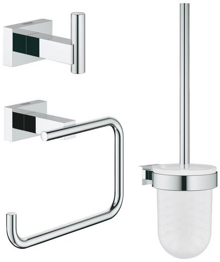 GROHE Bad-Accessoire-Set »Essentials Cube«, 3 in 1