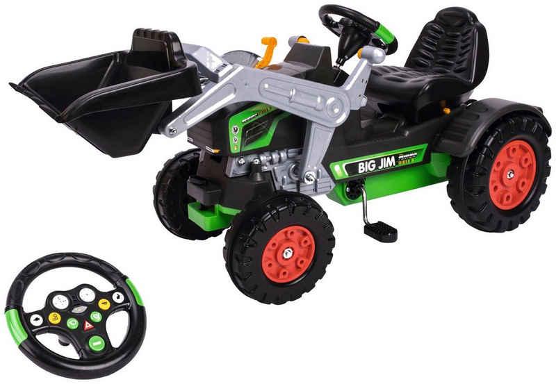 BIG Trettraktor »BIG-Jim-Turbo«, BxTxH: 109x52x47 cm