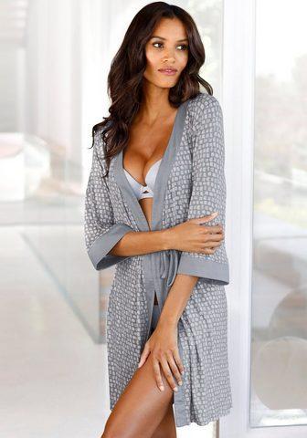 LASCANA Kimono su Allover-Muster