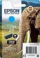 Epson »Tinte Singlepack Cyan 24« Tintenpatrone, Bild 1