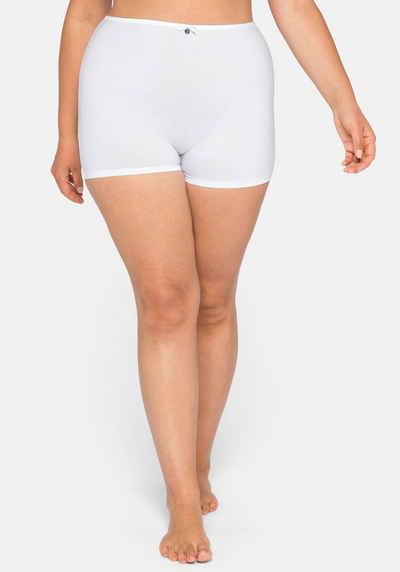 Sheego High-Waist-Slip mit kurzem Bein