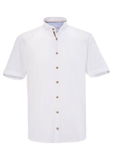 Murk Trachtenhemd mit Webmuster