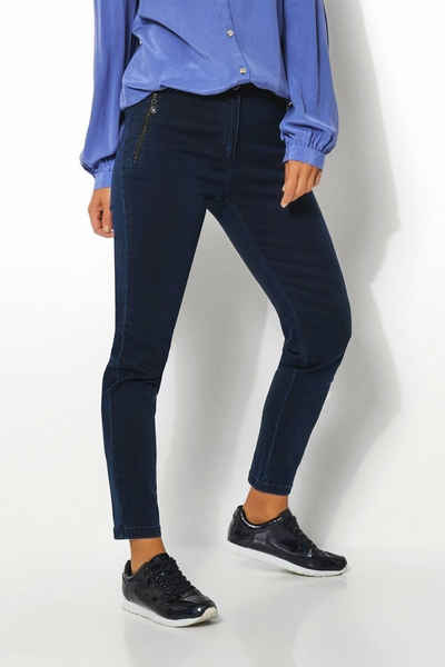 Relaxed by TONI Ankle-Jeans »Alice« mit langen Zippertaschen