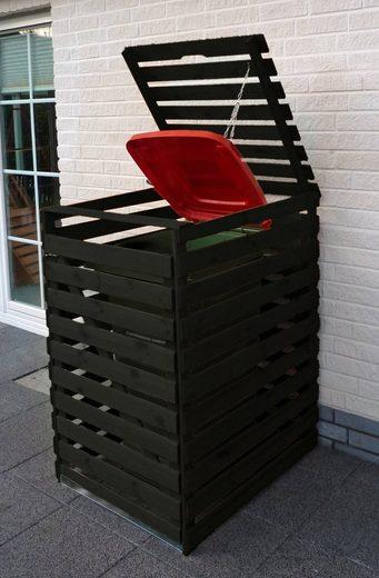 PROMADINO Mülltonnenbox »Vario V«, für 1 x 240 l, anthrazit